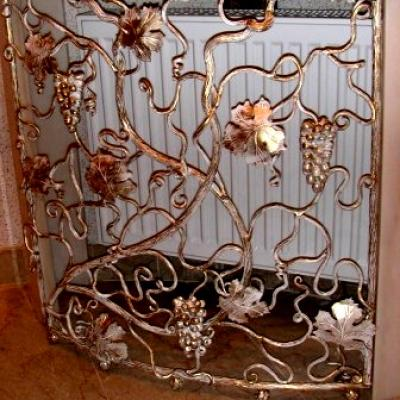 Декоративная кованая лоза