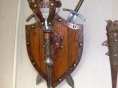 Светильник кованый.